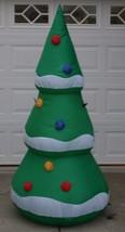 Gemmy gonfiabile albero di Natale 1.8-2.1m M VACANZA ILLUMINARE - $43.47