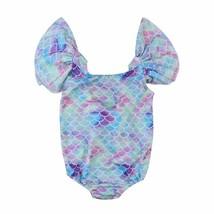 Toddler Newborn Kid Baby Girls Clothes Mermaid Leotard Swimwear Swimsuit... - $9.34