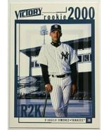 2000 Upper Deck Victory #362 D'Angelo Jimenez Yankees Rookie Baseball Card - $3.05