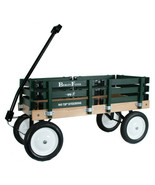 Hunter Green BERLIN FLYER CLASSIC Wooden No Tip WAGON -  MADE in the USA - $225.37
