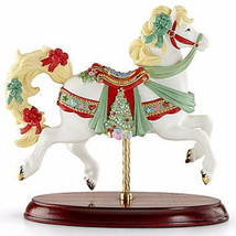 Lenox 2015 Christmas Carousel Horse Figurine Collectible 853124 New In Box - $396.90