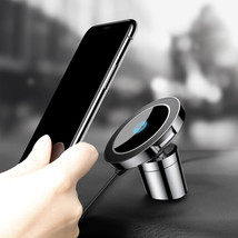 Baseus Car Mount Qi Wireless Charger Fast Wireless Charging Magnetic Car... - $29.85