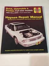Haynes Manuals: Buick Oldsmobile Pontiac Full-Size Models 1985 Thru 2005... - $9.46