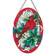 Holiday Cardinal and Holly Suncatcher - $26.16