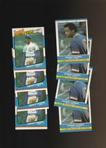 1987 Fleer Dwight Gooden New York Mets #19 #12 Lot of 8 - $2.70