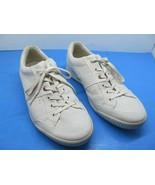 ECCO Street 10 Mens White Anniversary Edition Golf Shoes Size US 10 TPU ... - $57.82