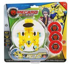 Pasha Mecard Ciclon Mecardimal Turning Car Vehicle Toy Action Figure image 3