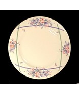 "Pfaltzgraff GateHouse 10"" Dinner Plate Blue Pink Floral Ivory China Dinn... - $6.95"