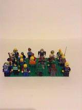 Lot Of 24 Random Mixed Lego Minifigures Minifig Building Toys Pretend Play - $16.82