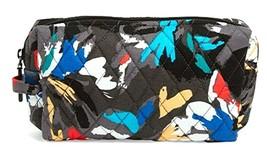 Vera Bradley Large Cosmetic Makeup Bag Splash Floral Pattern - $21.21
