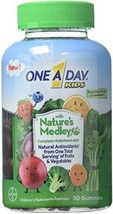 One A Day Kids Gummy Nature's Medley, 110 Count