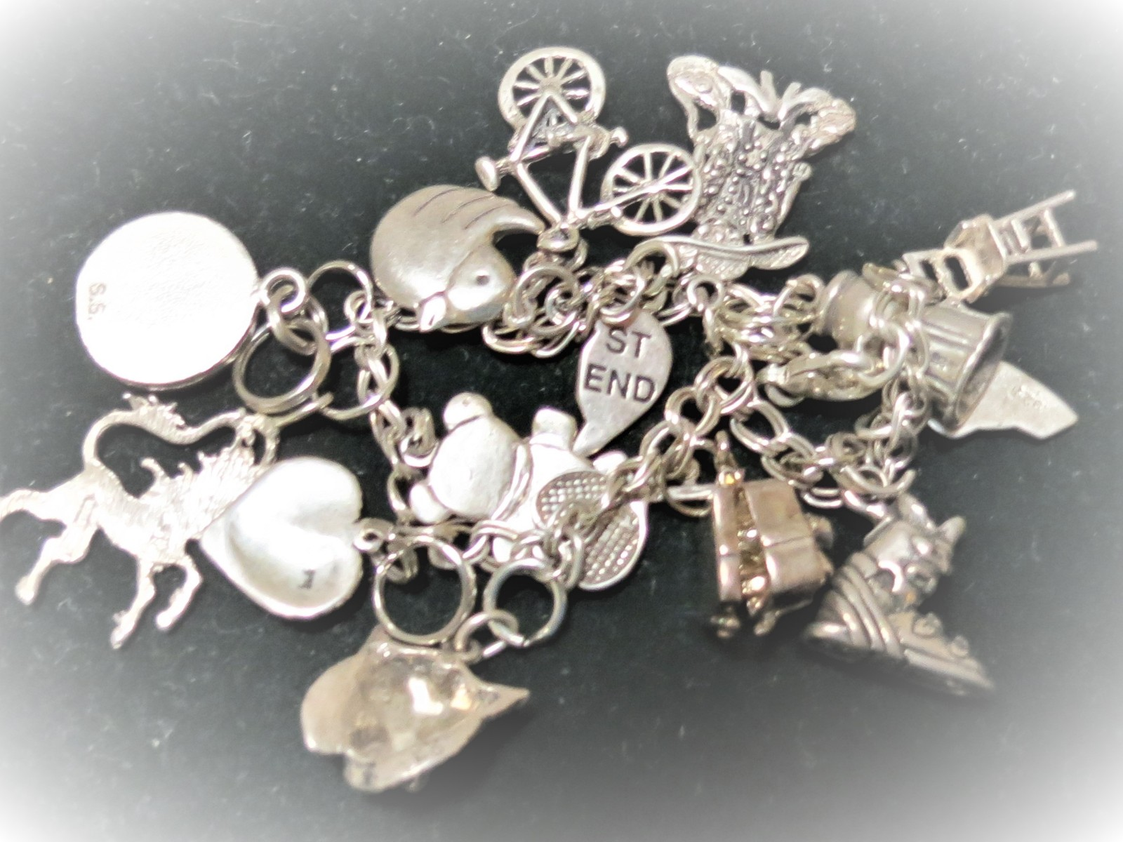 Sterling Silver charm bracelet image 5