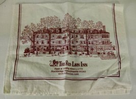 The Red Lion Inn Kitchen Tea Towel Stockbridge Massachusetts - $38.72