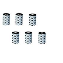 Zebra 8.66x1476' 5319 Thermal Transfer Wax Ribbon 6-Pack 05319BK22045 - $540.44