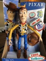 Disney Pixar Toy Story 4 True Talkers Talking WOODY NEW - $17.61