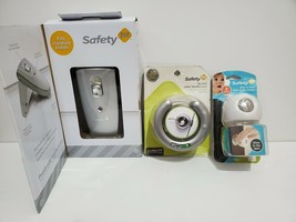Safety 1st Push-Button Toilet Lock Children Handle Lock Door Knob Covers Bundle - $32.47