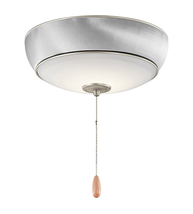 Kichler 380950NI Signature Fan Accessory 13in Brushed Nickel Steel 1-light - $274.95