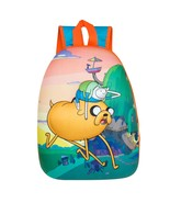 Adventure Time Finn And Jake Bubble Sunset Backpack Orange - $23.98