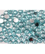 3mm SS12 Blue Aqua Lite A08 Acrylic Rhinestones For Face Painting, Lead ... - $5.08