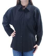 Lauren by Ralph Lauren Women's Dolman Sleeve Button Shirt M 4523-3 - $15.27