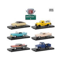 Drivers 6 Cars Set Release 39 In Blister Pack 1/64 Diecast Model Cars by... - $53.47
