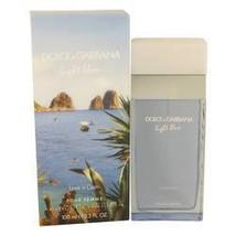 Light Blue Love In Capri Perfume  By Dolce & Gabbana for Women 3.4 oz Ea... - $61.95