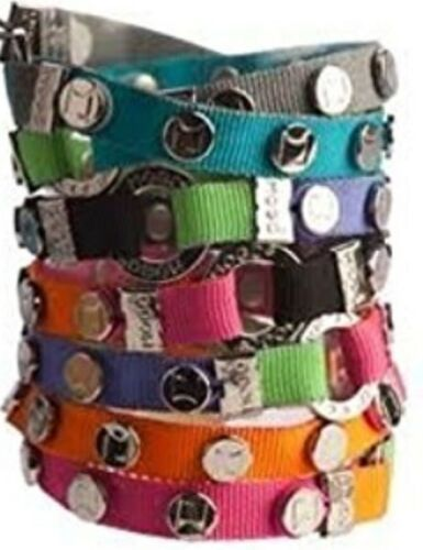 MOGO Magnetic Charms SKATER GIRL Round Tin w/ 3 Charms BIRTHDAY PARTY FAVORS NEW image 3