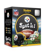 MasterPieces NFL Spot It! Pittsburgh Steelers Edition - $14.40