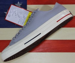 Converse Sample Chuck Taylor ALL-STAR Ox Low 1970s Wolf Grey Canvas 160496C Sz 9 - $71.10