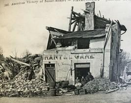 WW1 20 Postcard Book American Victory St. Mihiel Thiaucourt War Damage S... - $51.48