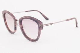 Tom Ford MIA Havana / Rose Mirrored Sunglasses TF574 55Z MIA-02 - $185.22