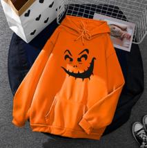 Halloween Hoodie Sweatshirt Pullover Women Sweater (C) Ship From USA image 1