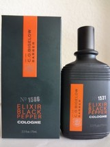 Bath & Body Works C.O. Bigelow Barber ELIXIR BLACK PEPPER Cologne No.1586 - $66.99