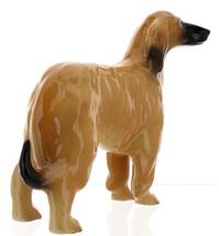 Hagen-Renaker Miniature Ceramic Dog Figurine Afghan Hound Pedigree Red image 4