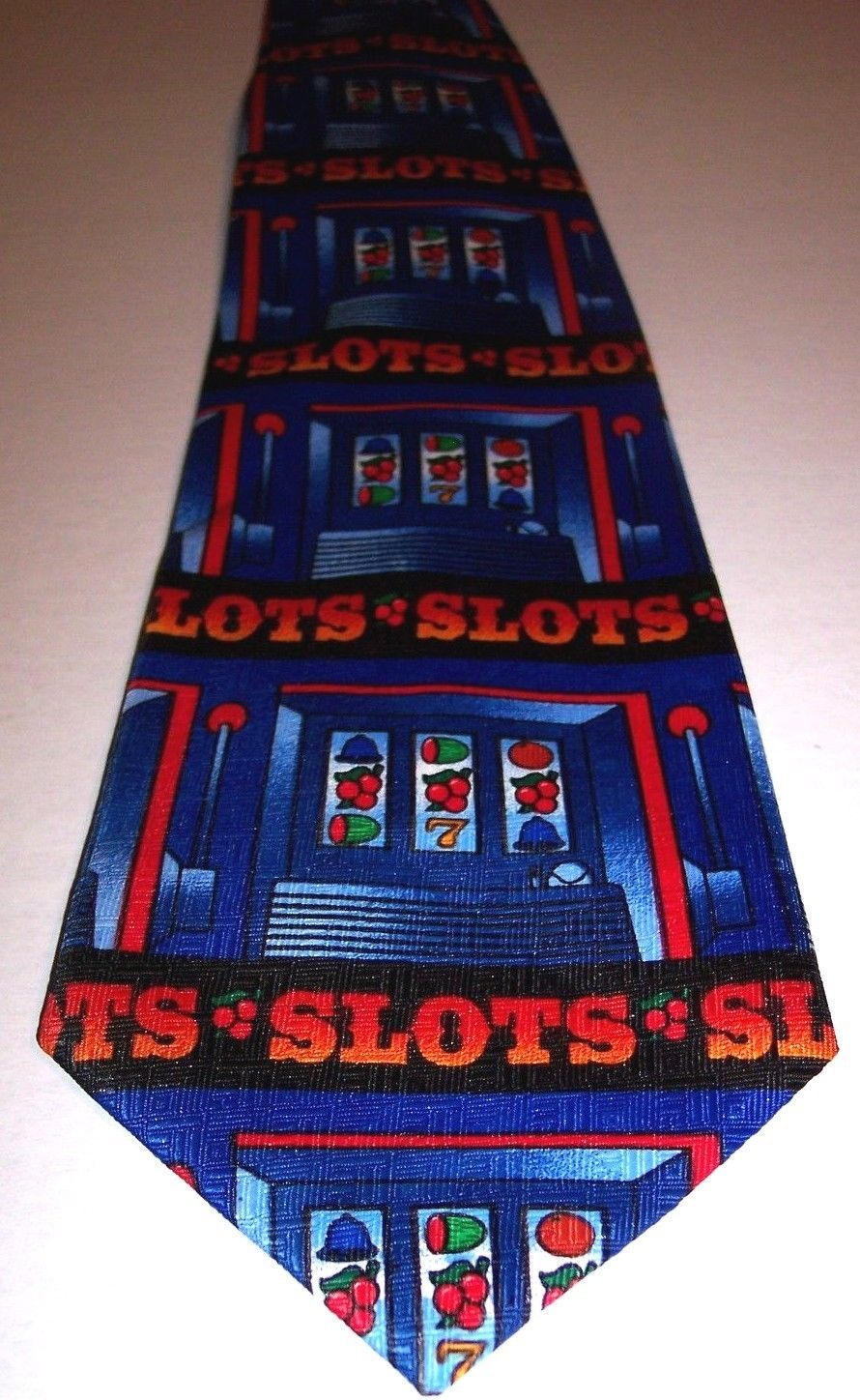 2c98f66c9ffd S l1600. S l1600. Previous. Ralph Marlin Tie Men's Gamble Slot Machines  Vegas Gambling Theme Novelty Necktie