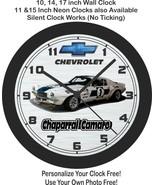 1970 Chevrolet Chaparral Racing Camaro Wall Clock-Free US Ship - $27.71+