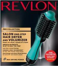 Teal Mint PRO Collection Salon One Step Hair Dryer and Volumizer Brush REVLON NE - $78.99