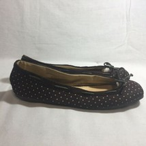 Women's American Eagle Outfitters Brown Poker Dot Slip On Flats Sz 8 - $8.71
