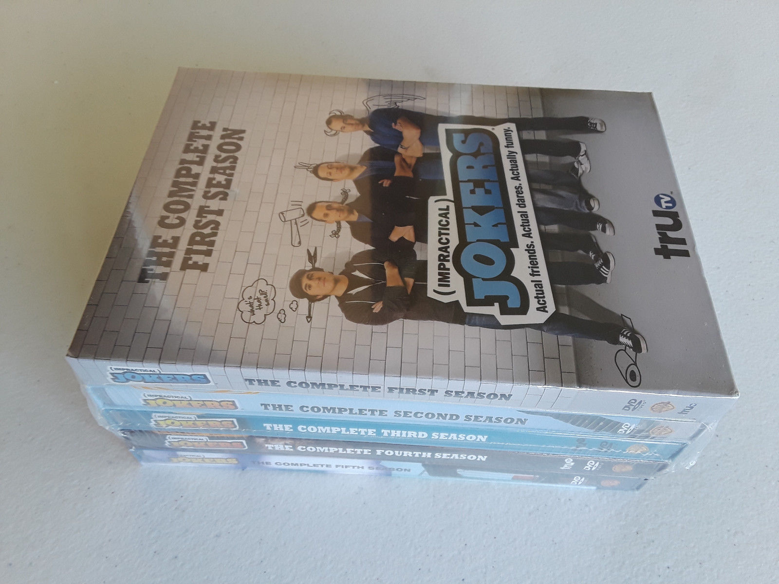 Impractical Jokers: The Complete Series Seasons 1-5 1 2 3 4 5 (DVD Sets New)