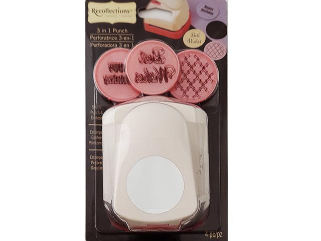 Recollections 3 in 1 Punch, Stamp, Punch and Emboss #324891