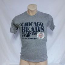 VTG Chicago Bears Training Camp T Shirt Tri Blend NFL Single Stitch Tour... - $29.99