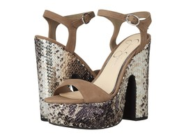 Women's Jessica Simpson Whirl Sandals, Sizes 5-10 Slater Taupe Nubuck JS... - $99.95