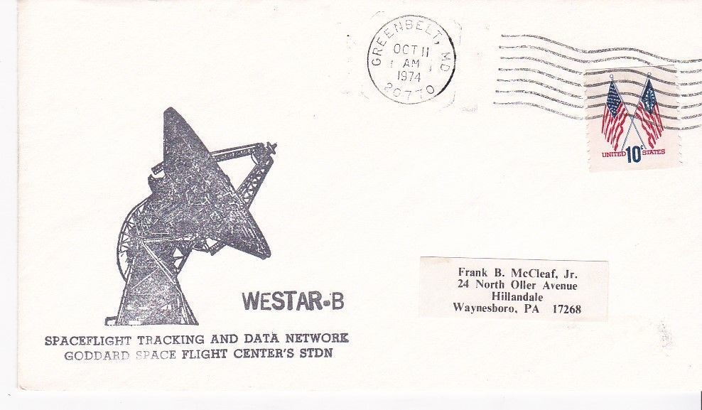 Primary image for WESTAR-B GREENBELT, MD OCTOBER 11 1974