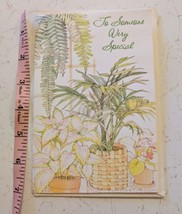 American Greetings Forget Me Not Happy Mother's Day House Plants Card Un... - $3.00