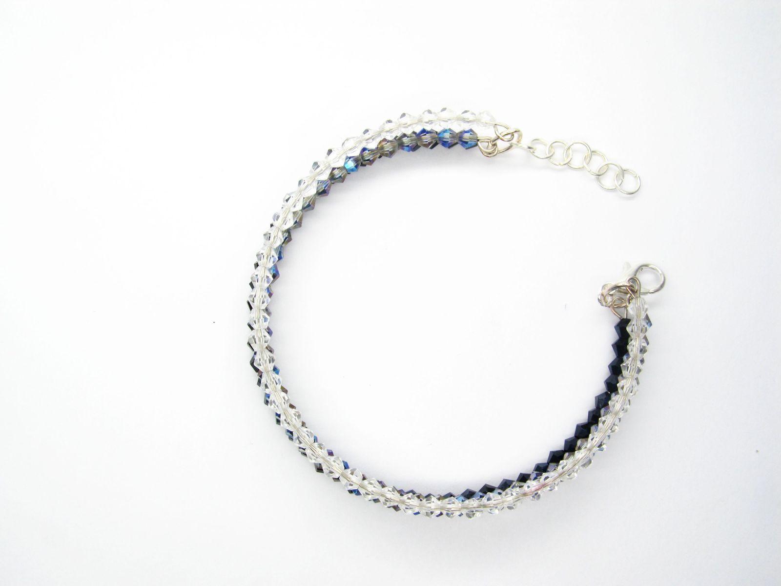 SWAROVSKY CRYSTAL BRACELET Swarovski Bracelet shiny jewelry Bridesmaid Bracelet
