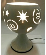 Electric Metal Fragrance Lamp/Oil Burner/Wax Warmer/Night Light #1855 - $19.79