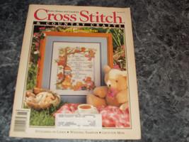 Cross Stitch & Country Craft Magazine May/June 1992 Stitching on Linen - $0.99