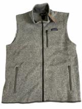 NWT New Patagonia Men XL Better Sweater Vest Stonewash Grey Fleece image 1