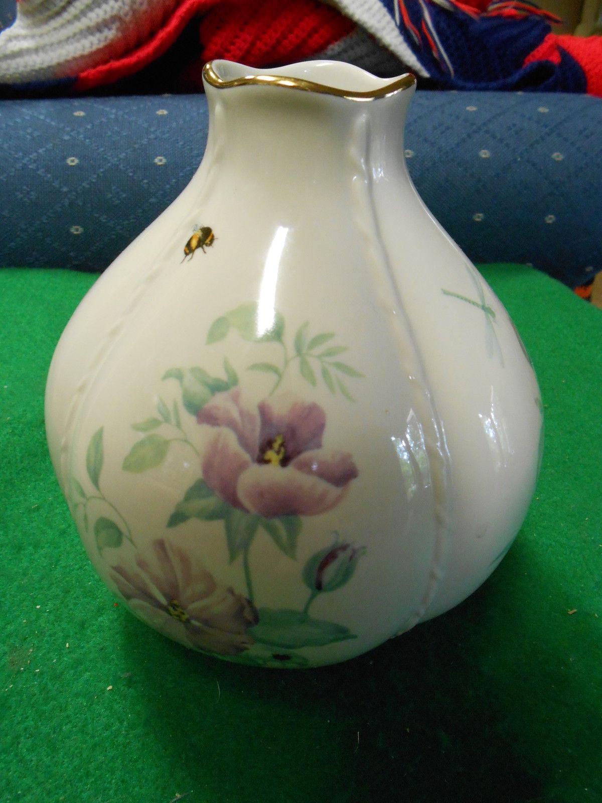 Lenox vase 174 listings outstanding beautiful morningside cottage lenox vase 2977 reviewsmspy