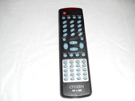 citizen  dvd  +rw    remote   control  - $4.99